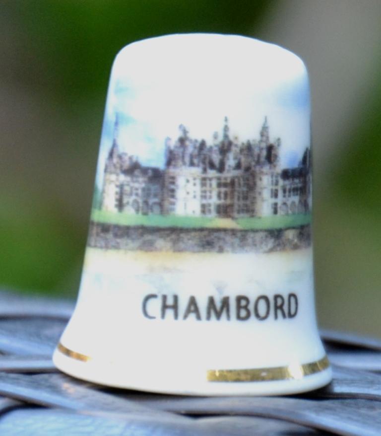 Dé à coudre souvenir Chambord