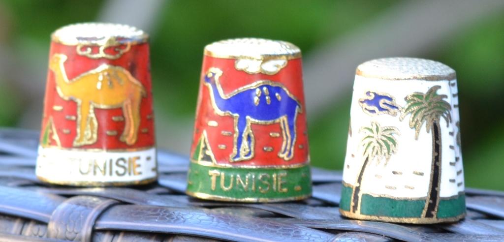 Dé à coudre souvenir Tunisie