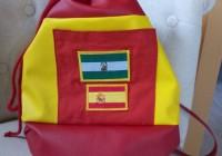 Viva España un sac marin aux couleurs de l'Espagne - Vue avant