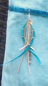 zoom sur fantaisie sac cabas Louise