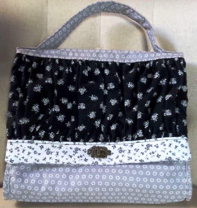 Mon 1er SAL : le sac de ville de Dame Valiste - devant