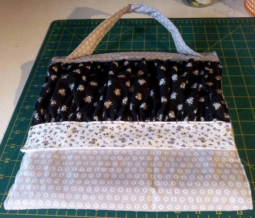 Mon 1er SAL : le sac de ville de Dame Valiste - 2eme étape