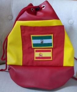 Viva España un sac marin aux couleurs de l'Espagne