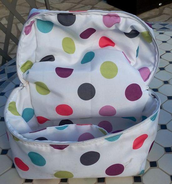Un vanity pour Lunch Bag - intérieur