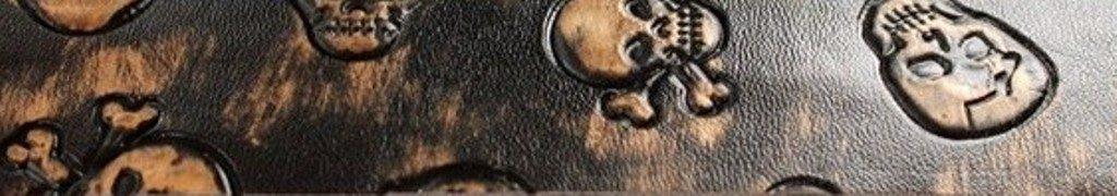 Ruban tête de mort cuivre