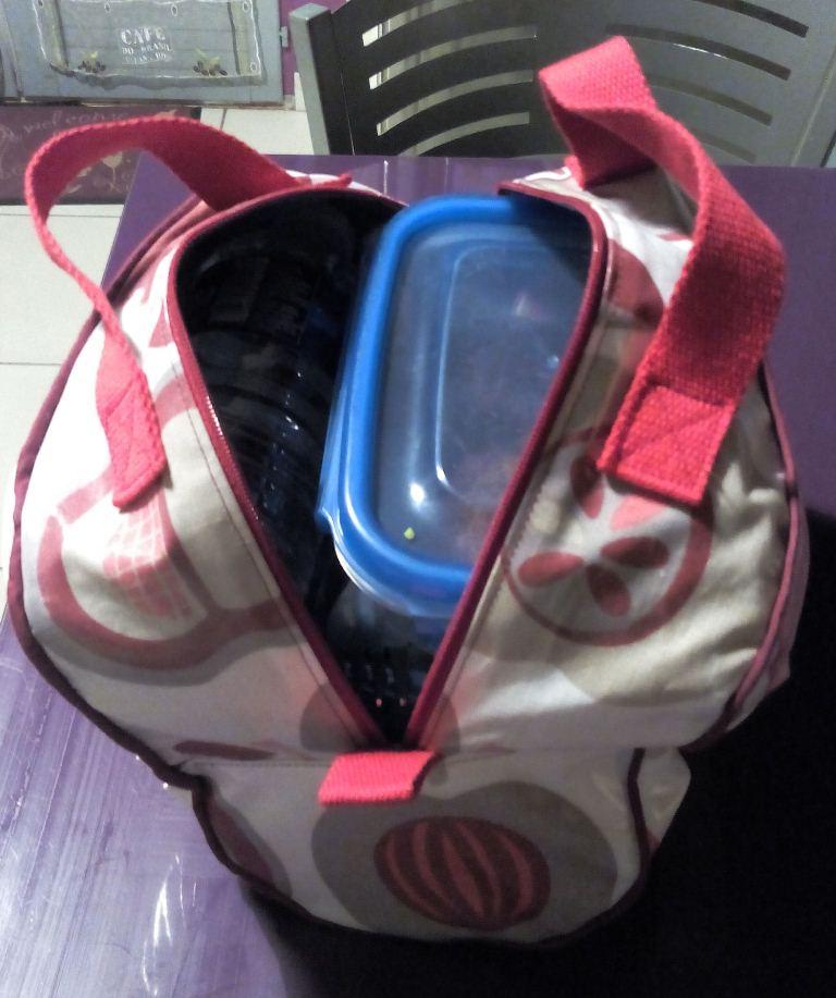 Des pommes rouges pour mon lunch bag isotherme