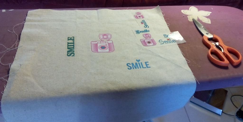 Souriez c'est pour un tote bag