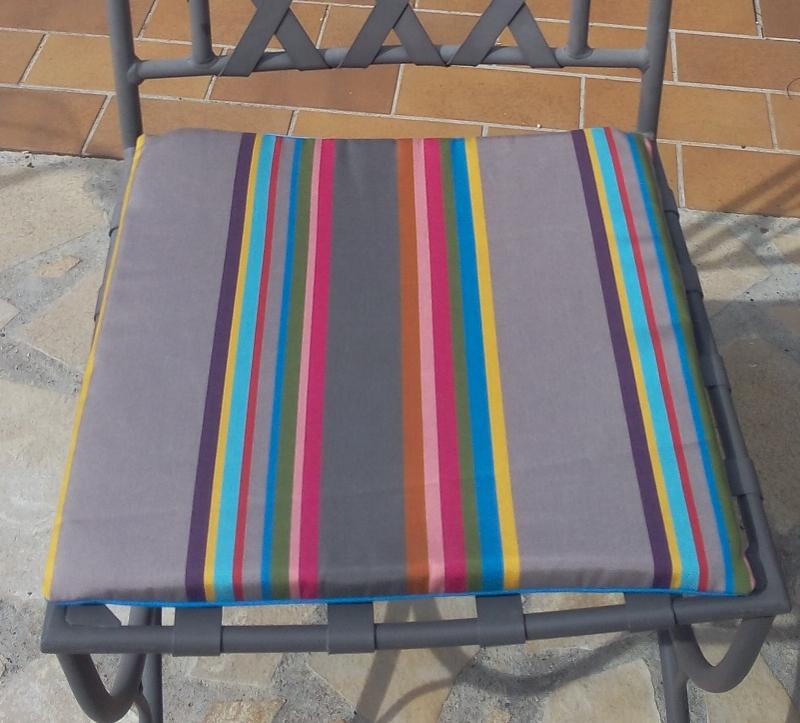 Galette de chaise et mini coussins