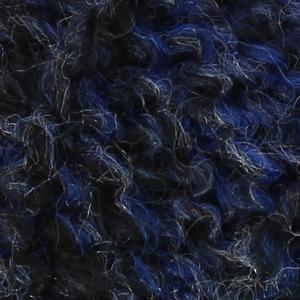 Un pull en toison bleu de chine