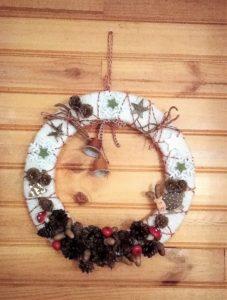 Swap de Noël 2018 : couronne de Florence
