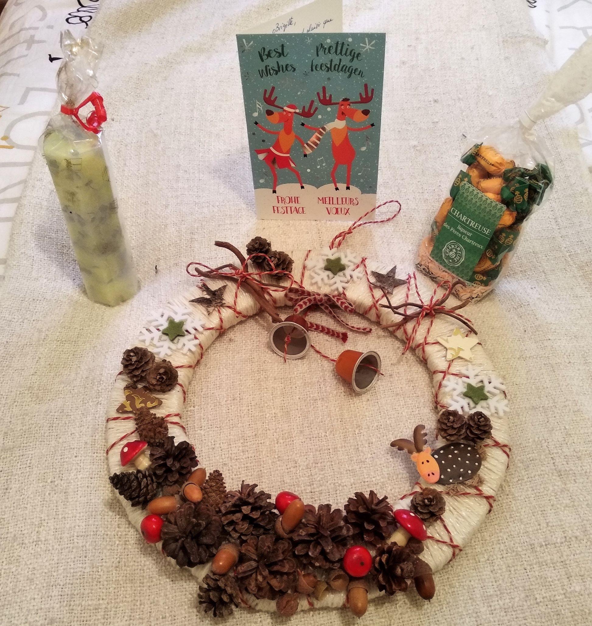 Swap de Noël 2018 : colis offert par Florence