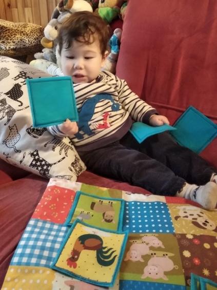 Un jeu Memory fait main pour Noël