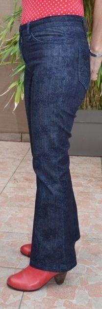 Jeans Flare côté