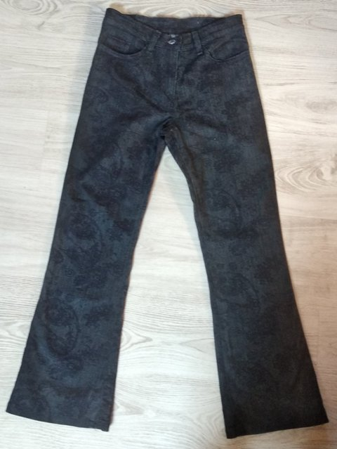 Enfin un jean flare taille normale