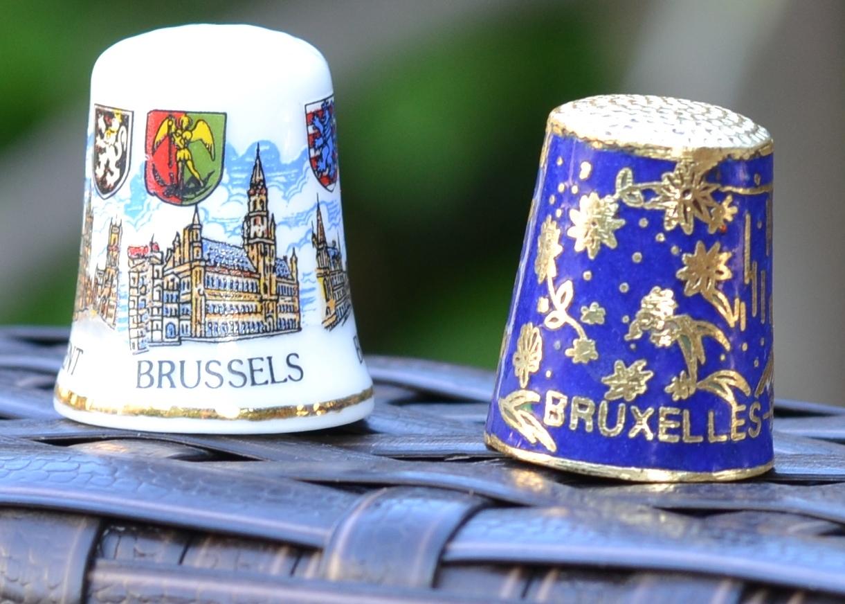 Dé à coudre souvenir Bruxelles