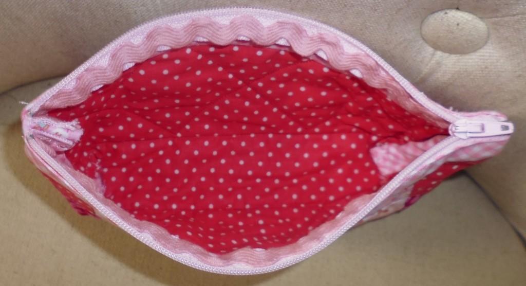 Trousse patchwork facile - Intérieur