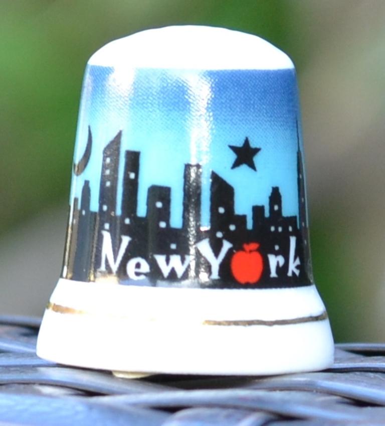 Dé à coudre souvenir New York