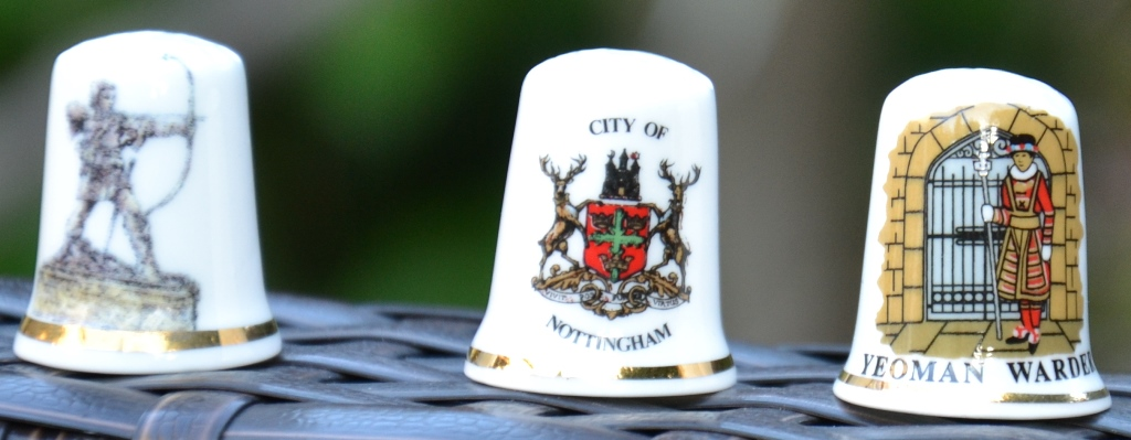 Dé à coudre souvenir Nottingham