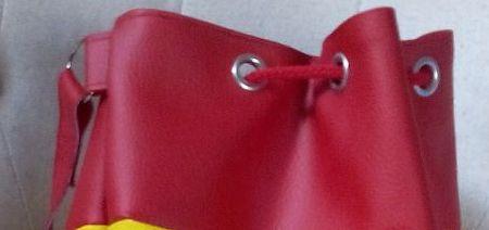 Viva España un sac marin aux couleurs de l'Espagne - Œillets et cordon