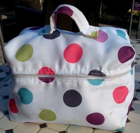 Un vanity pour Lunch Bag