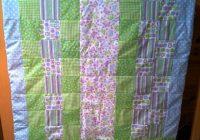 Un joli plaid patchwork pour bébé