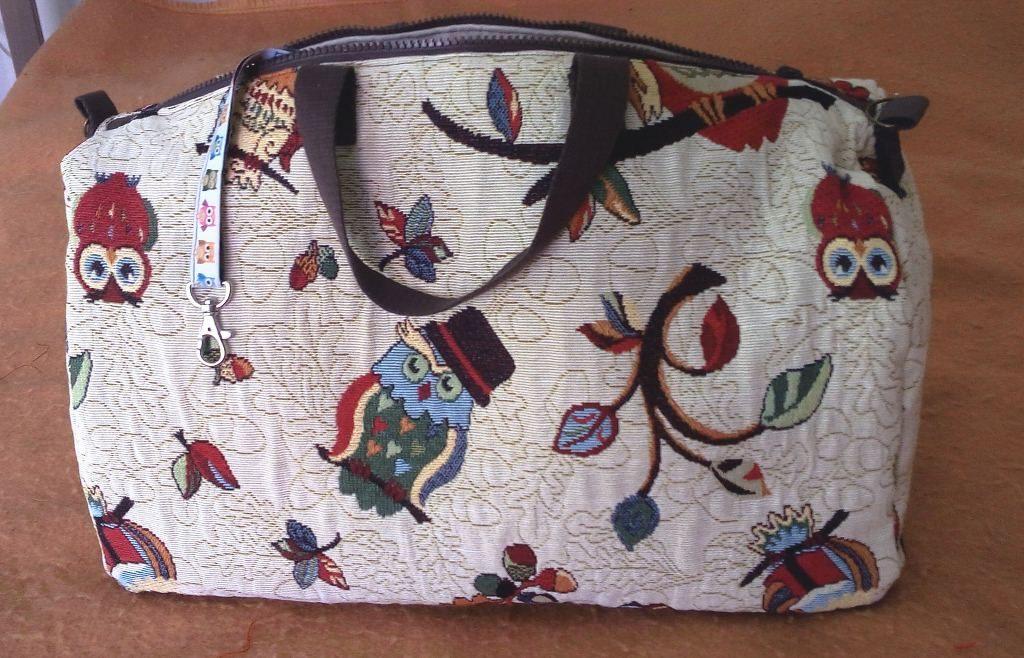 Chouette un sac de voyage hibou