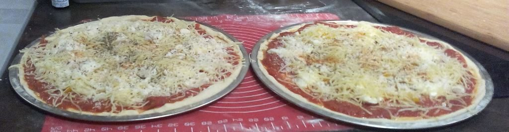 Miam Miam des pizzas maison